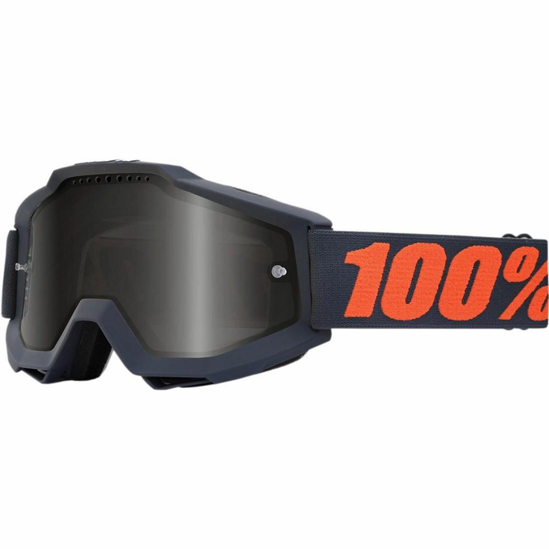 100% Crossglasögon Accuri Gunmetal Sand - Motoaction a008592ec8331