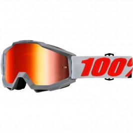 100% Crossglasögon Accuri Solberg 2018 Orange Spegel