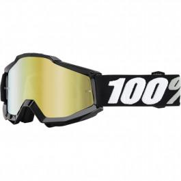 100% Crossglasögon Accuri Tornado Svart