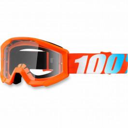 100% Crossglasögon Barn Strata Orange Clear