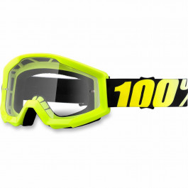 100% Crossglasögon Strata Gul Clear