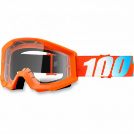 100% Crossglasögon Strata Orange Clear