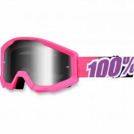 100% Crossglasögon Strata Rosa Speggellins