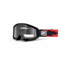 100% Crossglasögon Strata Slash Clear
