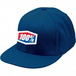 100% Keps Flex Blå