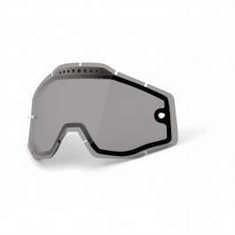 100%, Lens Vented Dual Anti-Fog, Smoke
