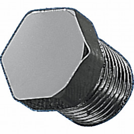 1/8 NPT HEX PLUG CHROME