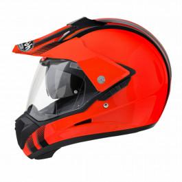 Airoh Adventurehjälm S5 Line Orange