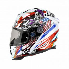 Airoh Helmet GP500 Grim White 54-XS