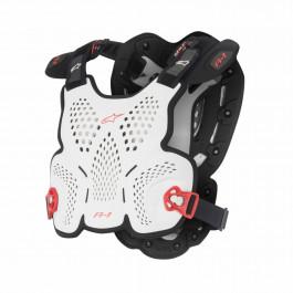 Alpinestars Bröstskydd MX AS A1 Vit