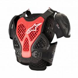 Alpinestars Bröstskydd MX Bionic Röd/Svart