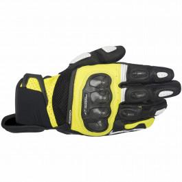 Alpinestars MC-Handskar Kort SPX Air Carbon Svart/Gul