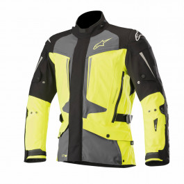 Alpinestars MC-Jacka Yaguara Drystar Tech Air Svart/Neongul