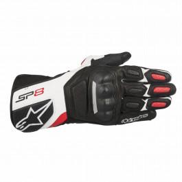 Alpinestars Skinnhandskar SP-8 v2 Svart/Vit/Röd