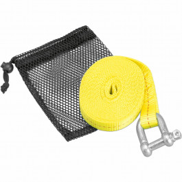 ATV TOW STRAP W/SHACKLE