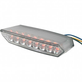 Baklampa Smoke Universal LED Parts Europe