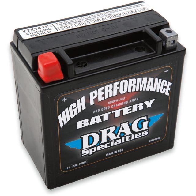 Batteri Underhållsfri AGM DRAG SPECIALTIES