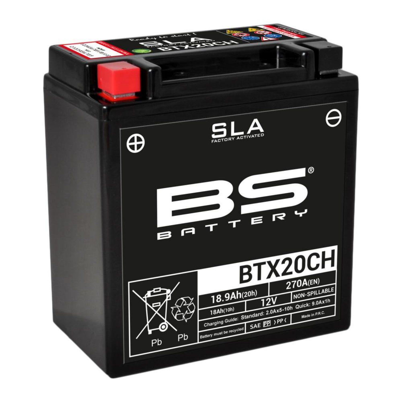 mc  mc-delar  batterier Batteri till MC - MOTO GUZZI SPORT 1200 4V S.E. - MOTO GUZZI SPORT 1200 4V S.E. 2012 - BS Battery - SLA BTX20CH