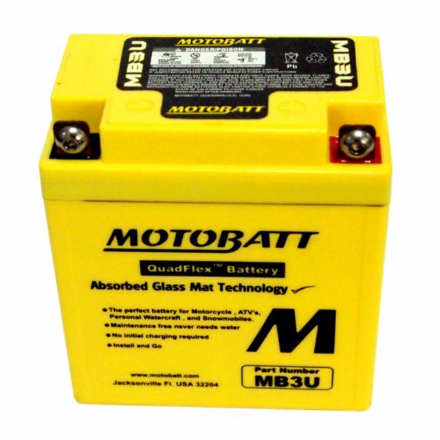 Batteri Underhållsfria Motobatt
