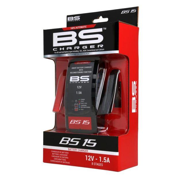 Batteriladdare BS15 12V-1.5A BS BATTERY