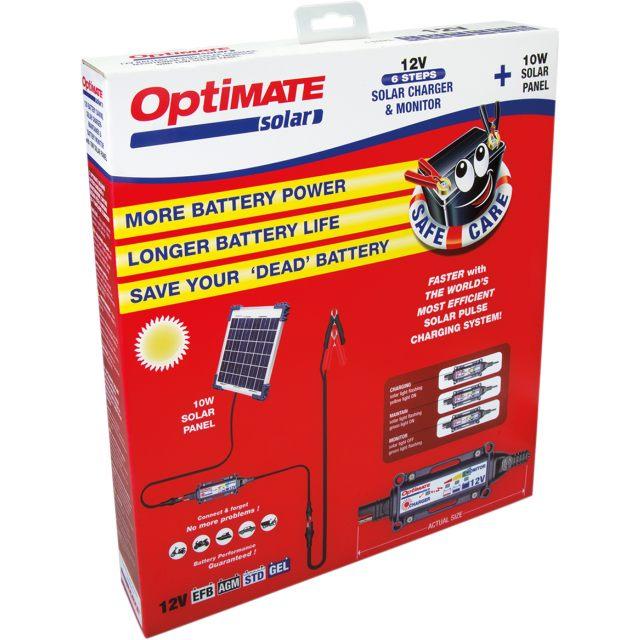 Batteriladdare SOLAR Solcellsladdare TECMATE