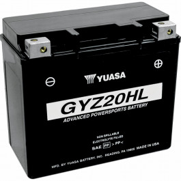 BATTERY YUASA GYZ20HL