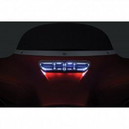 Batwing Styling Kåpventilation LED till Harley Davidson FLHT/FLHX/FLHTCUTG 14-17 KURYAKYN