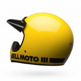 Bell Crosshjälm Moto-3 Classic Gul