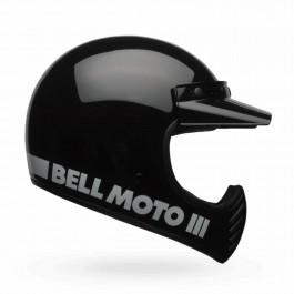 Bell Crosshjälm Moto-3 Classic Svart