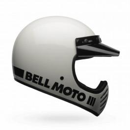 Bell Crosshjälm Moto-3 Classic Vit