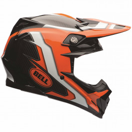 Bell Crosshjälm Moto-9 Flex Factory Orange/Svart