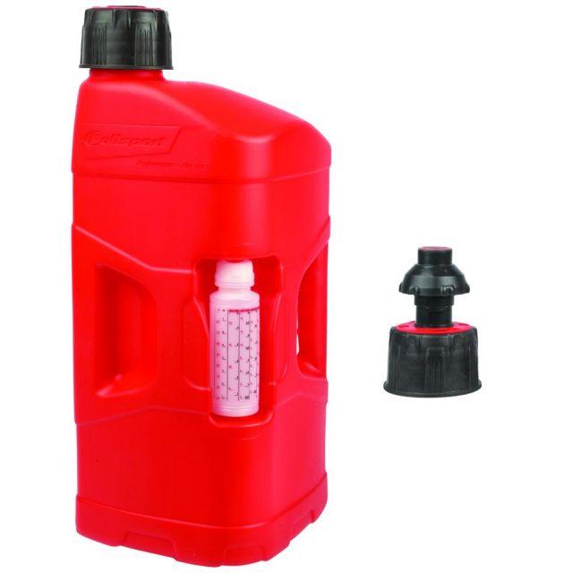 Bensindunk Pro Octane 20 Liter Quick Fill Röd POLISPORT