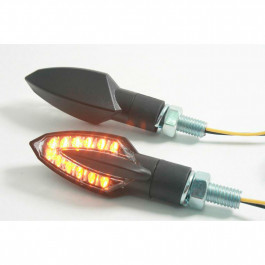 Blinkers Stinger LED Svart Parts Europe