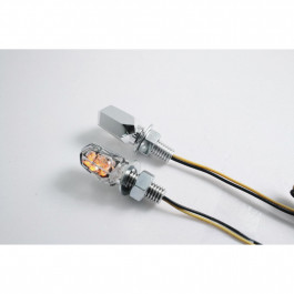 Blinkers Ultra Mini LED Chrome Parts Europe