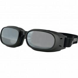 Bobster MC-Glasögon Piston Svart/Spegel