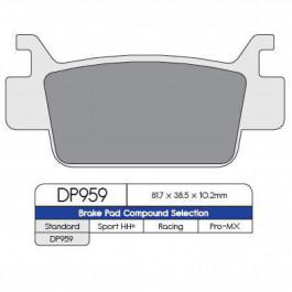 BRAKE PAD DP ATV DP959