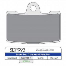 BRAKE PAD DP ST RDP993