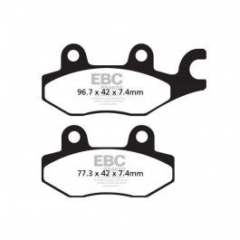 BRAKE PAD SINTER ROAD