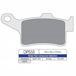 BRAKE PAD SINTRD DP533
