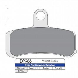 BRAKE PAD SINTRD DP986