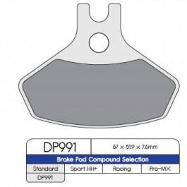 BRAKE PAD SINTRD DP991