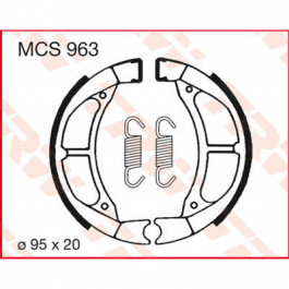 BRAKE SHOES TRW MCS963