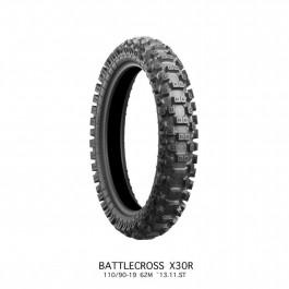 Bridgestone Battlecross X30R 110/90-19 Bakdäck