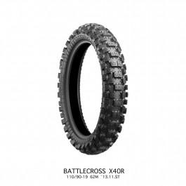 Bridgestone Battlecross X40R 100/90-19 Bakdäck