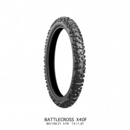 Bridgestone Battlecross X40R 80/100-21 Framdäck