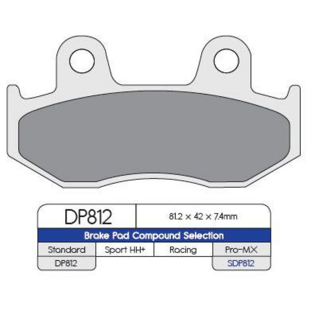 Bromsbelägg FRAM MX-Pro DP-Brakes
