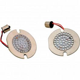 BULB LED RED 7507 FLAT