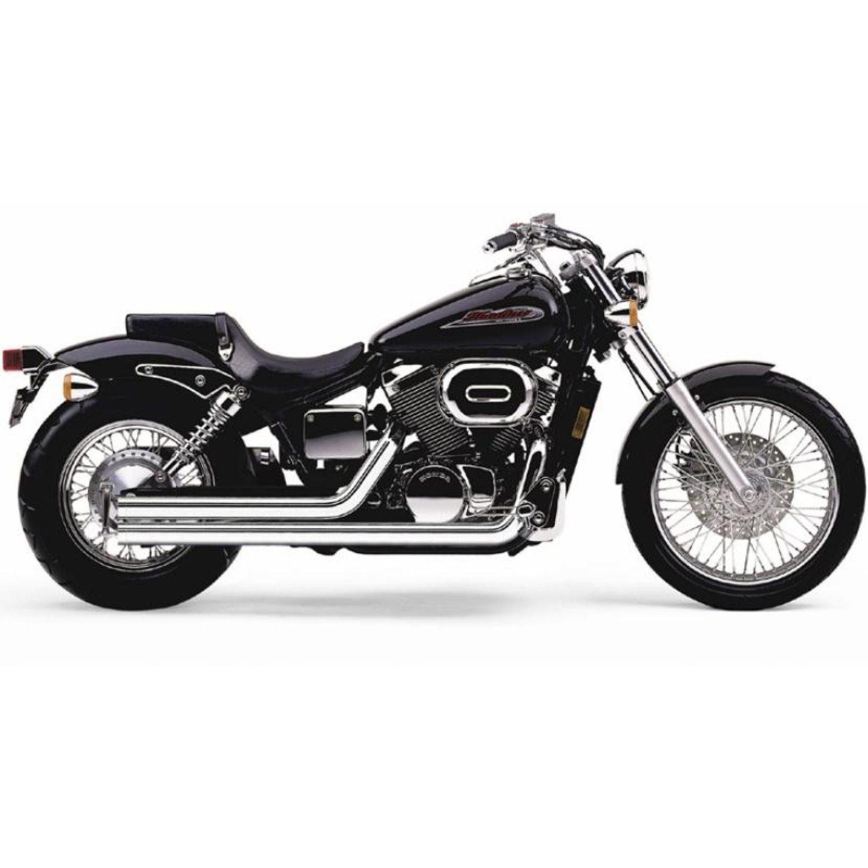 Cobra Streetrod Avgassystem Honda Vt 750 Dc Black Widow 2001 - Motoaction 4785f79aa7a0d