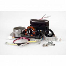 CRF 450R, 02-04 70W, DC system, stator, likriktare, batteri, väska, sv