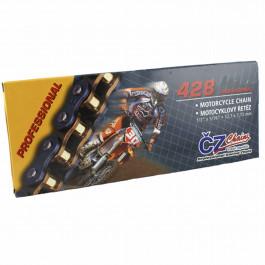 CZ Chains, CZ 428, MX Racing Gold, 130 länkar, 428